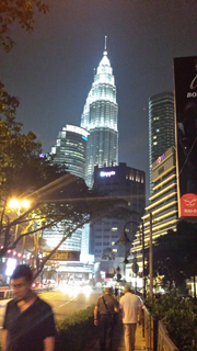 マレーシアホテル夜景